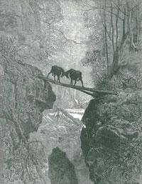 Две Козы (Г. Доре)